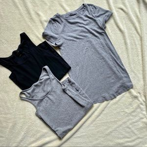 BUNDLE ISABEL MATERNITY Tee and Tanks